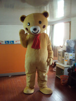 Wholesale Sexy Teddy Bear Mascot - brown teddy bear Plush Cartoon Character Costume mascot Custom Products customized