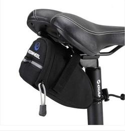 Wholesale Bicycle Saddle Bike Seat - New 2012 Black Bicycle Bike Cycling Under Seat Saddle Bag Pouch