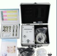 mini-diamant-mikrodermabrasion maschine großhandel-Heißer Verkauf NEUE MINI Diamant Microdermabrasion Dermabrasion Peeling Schönheit Maschine Hautpflege Anti Aging mit Spiegel
