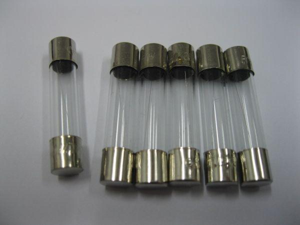 top popular Glass Fuse 250V 6mm x 30mm Fast Blow 0.5A 100 pcs per Lot 2021