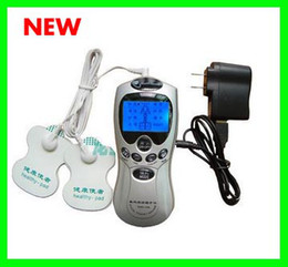Wholesale Acupuncture Digital Therapy Machine Massager - 35pcs lot # Background Light Digital LCD Therapy Acupuncture Body Massager Machine Slim massager