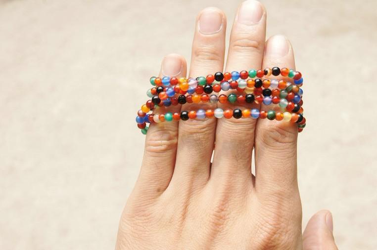 Cuentas de oración budistas tibetanos, yoga y meditación, 216 cuentas del color del collar esmeralda, 4 m