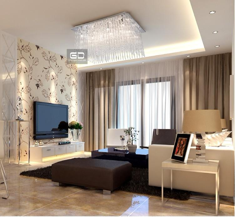 Modern Minimalist Ceiling Lamps Crystal Bedroom Luxurious Living Room Lighting