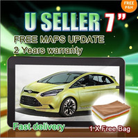 "Wholesale United Toyota - Promoting! 20% Off -7"" Car GPS Navigation with Bluetooth AV-IN+128M 4G+Windonc CE 6.0+2 Free gift"