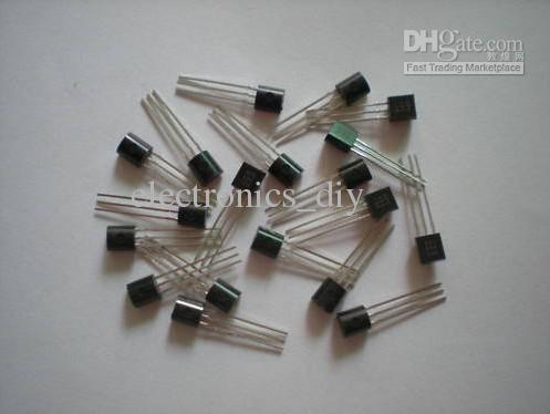 트랜지스터 C945 2SC945 NPN TO92 패키지 로트 당 1000 개