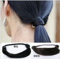 Wholesale Wig Pony Tail Holders - Wholesale -wig hair rope hair accessorieshair jewelry hair rope quality low price Hair elastic rope