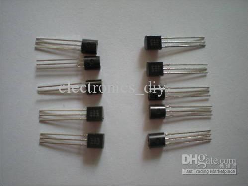 트랜지스터 2N2222 MPS2222 NPN TO92 패키지 로트 당 1000 개