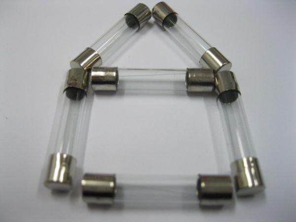top popular Glass Fuse 250V 5mm x 20mm Fast Blow 6A 8A 10A 15A 20A for Choice 500 pcs per Lot 2021