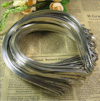 Wholesale Diy Hoops - Stainless steel sheet head dry hair hoop headdress DIY jewelry accessories