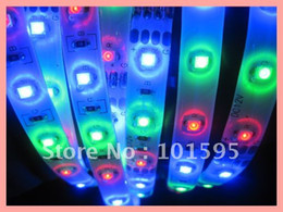 Wholesale Strip 3528 Red 24v Waterproof - Top Selling 3528 Waterproof LED Strip Light RGB Changing Color 60leds m, 300leds 5m a Roll Free Shi