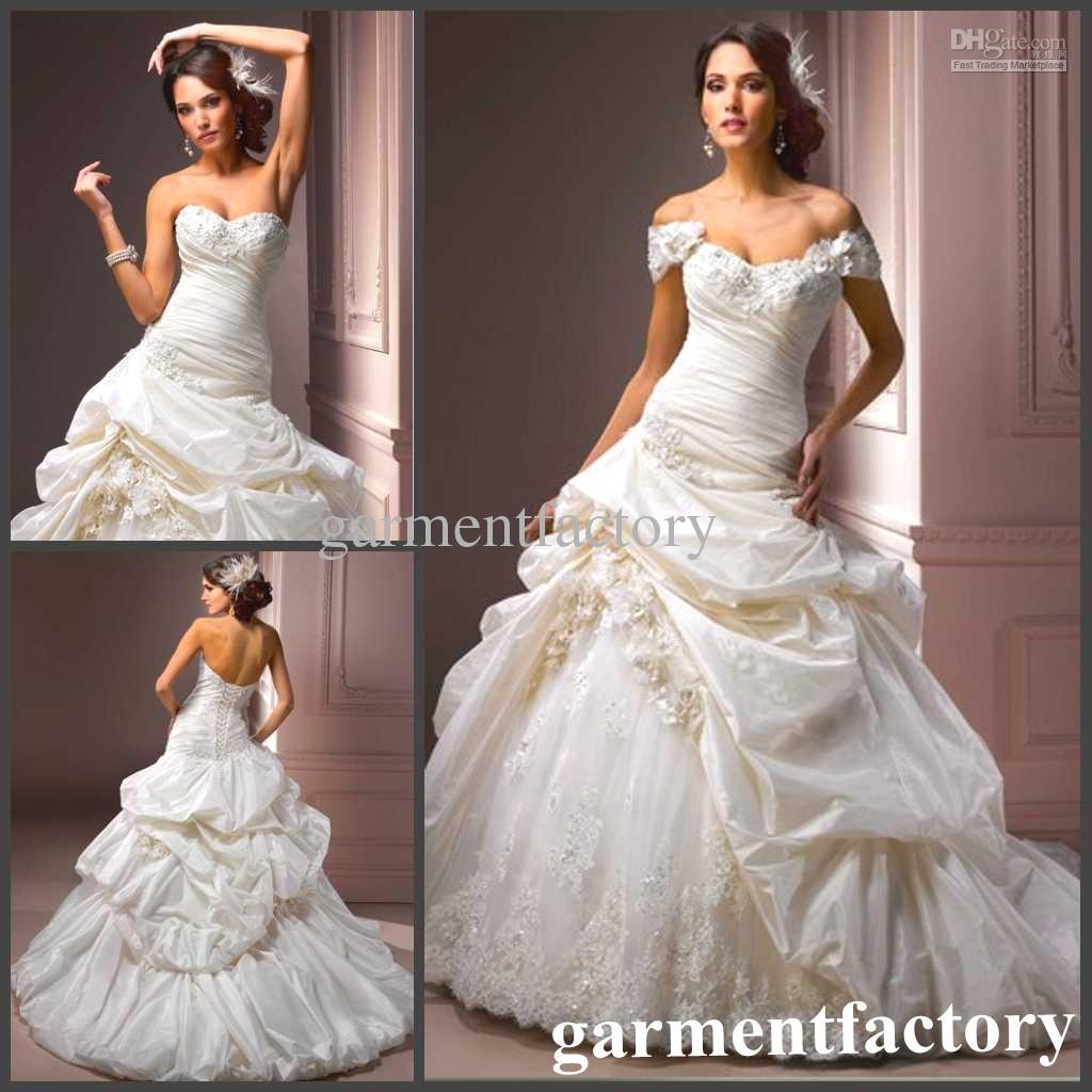 Goddess Wedding Gown: Goddess Wedding Dresses Off The Shoulder Ruffles Ball Gown