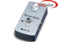 pédales d'effets joyo achat en gros de-Noise Gate Pédale d'effet JOYO JF-31 Pédale d'effet True design bypass pour toute guitare électrique