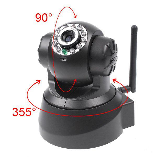 2018 nightvision ir webcam web cctv camera wifi wireless ip camera white black outdoor indoor. Black Bedroom Furniture Sets. Home Design Ideas