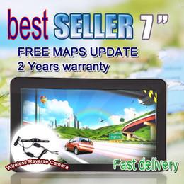 Wholesale Hyundai Hd - 7 inch gps Navigation,HD 800*480,MTK,DDR128M,WINCE6.0,Bluetooth,AV IN,FM+Wireless Reverse Camera G00