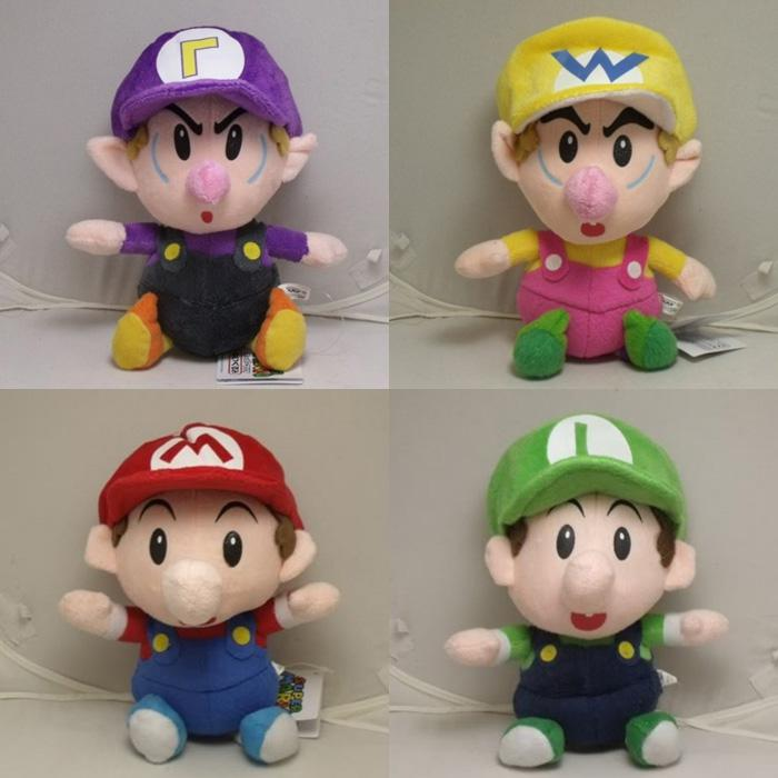 2020 Super Mario Bros Baby Mario Baby Luigi Baby Wario Baby