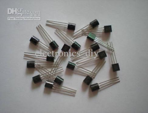 트랜지스터 A92 MPSA92 PNP TO92 패키지 로트 당 1000 개