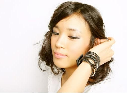Hot New Moda das Mulheres jóias moda personalidade multi-camada pulseira de couro Mulheres Pulseiras Frete Grátis com número de rastreamento 355
