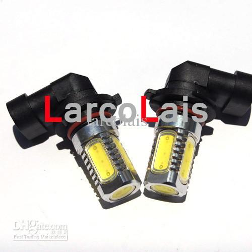 최고의 품질 9005 HB3 7.5W 자동차 LED 안개 빛 슈퍼 밝은 헤드 라이트 안개 전구 램프 12V DC 화이트