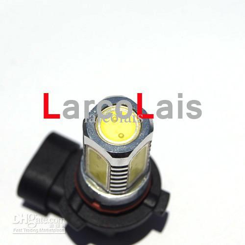 MEJOR CALIDAD 2 UNIDS 9006 HB4 7.5W Coche LED Luz de Niebla Super Brillante Faros Faros Lámpara de Niebla 12V DC Blanco