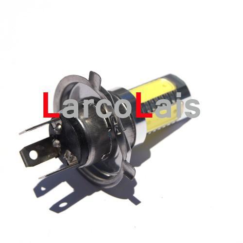 2 STÜCKE H4 7,5 Watt Super Helle Auto LED Frontscheinwerfer High Low Light Nebelscheinwerfer Lampe 12 V Weiß