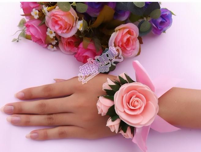 10 st Wedding Supplies Bride Hand Flower Sisters Hand Flowers Roses Wedding Props