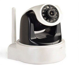 Wholesale Wired Ccd Camera - Infrared night vison ip camera wired wireless WIFI IP camera H.264 ID002A WIP604MW
