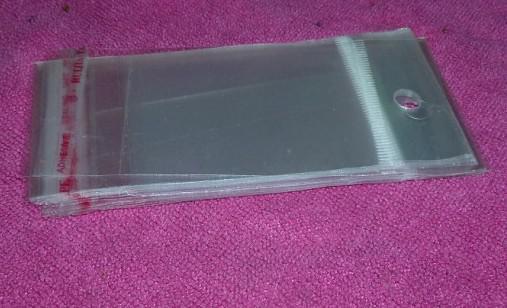 1000 stücke * OPP plastiktüten verpackungsbeutel selbstklebende taschen schmuck verpackung Größe: 12 * 6 cm