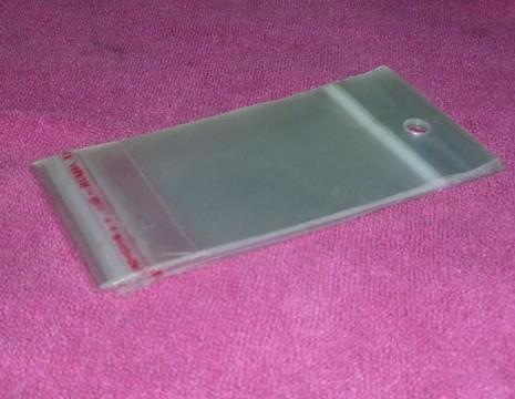 1000 pcs * OPP sacs en plastique emballage sac auto-adhésif sacs bijoux emballage Taille: 12 * 6 cm