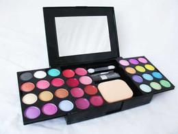 Argentina Maquillaje de moda maquillaje paleta de maquillaje 24 sombra de ojos 8 brillo de labios 4 rubor 3 polvo envío libre DHL 6139 Suministro