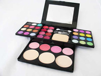 Wholesale colored eye shadow resale online - Exquisite colored eye shadow colors Fashion Eye shadow palette Cosmetics Mineral Makeup Eye Shadow Palette eyeshadow set DH