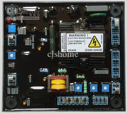 SX440 AVR Para Stamfod Alternador, SX440 AVR BORAD
