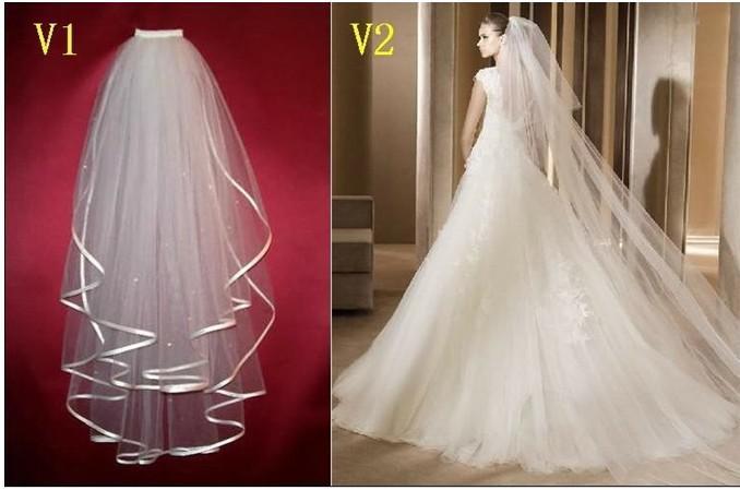 2012 Fashion Veils Bridal Veil For Wedding Dress Bridal Gowns ...