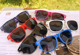 Wholesale Blue Sight - 10PCS hot style beach sunglasses womens sunglasses mens sunglasses Unisex sunglasses