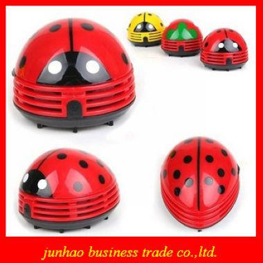 Mini Ladybug Vacuum Cleaner Desktop Coffee Table Vacuum Cleaner Dust  Collector For Home Office Car