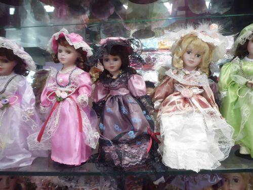 of 12 30cm victorian porcelain dolls bisque ceramic doll chyna girl