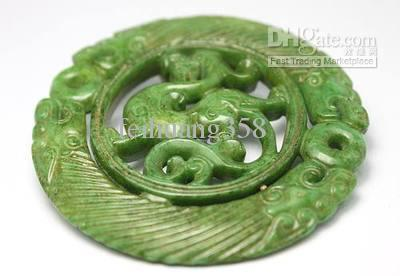2018 chinese hand carving dragon old jade pendant from feihuang358 see larger image aloadofball Image collections