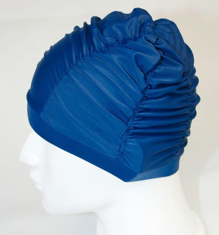 1 stks dames zwemmen hoed zwemmen cap tulband elastisch kleur rood of blauw