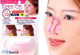 Wholesale Nose Up Lifting - 15PCS Fashion nose clip Nose Up Clip Shaping Lifting Clipper Beauty tool nose up clip Free ship By EMS