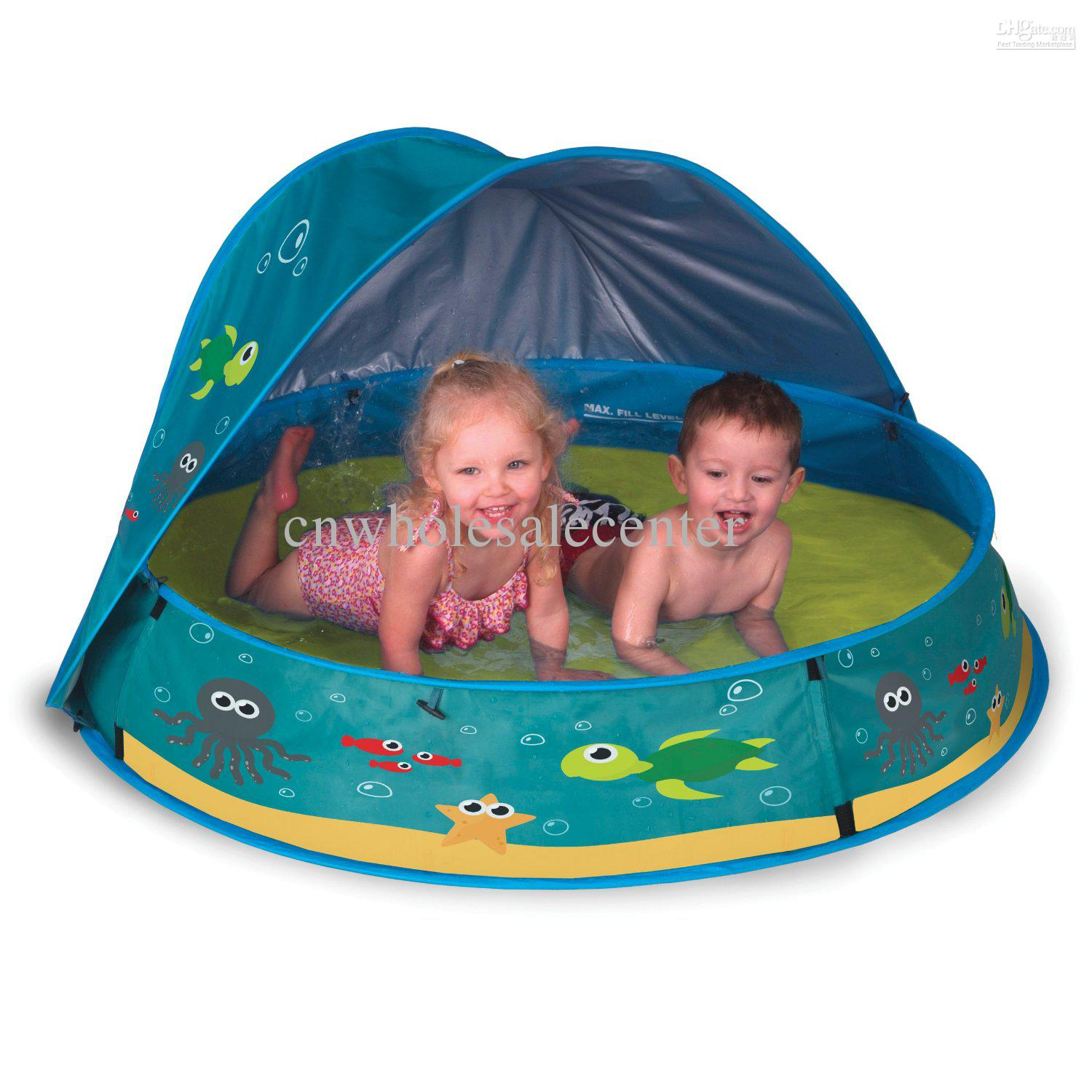 Fast Custom New Inflatable Shading Tent Swimming Pool For Children By  Express Free Shipping