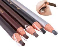 Wholesale Cheap Eyebrow Pencils - Cheap Price Lady Girl Beauty Cosmetic Makeup Eye Liner Eyebrow Eyeliner Pencil #6143