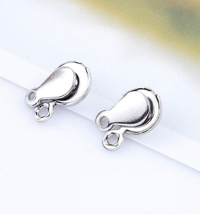 2017 / Metal Little Snap Fäste Clasps Hitta 7,5 mm Smycken Resultat Komponenter Clasps Hooks