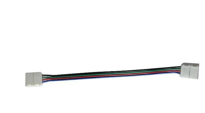 5050 RGB 용 새로운 디자인 LED 스트립 커넥터 와이어가있는 LED 스트립 라이트 무료 배송