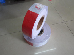 Wholesale Trucks China - 300M Roll 500*5cm Reflective Tape For Car Truck Cheap Wholesale Adhesive Warning Tapes From China