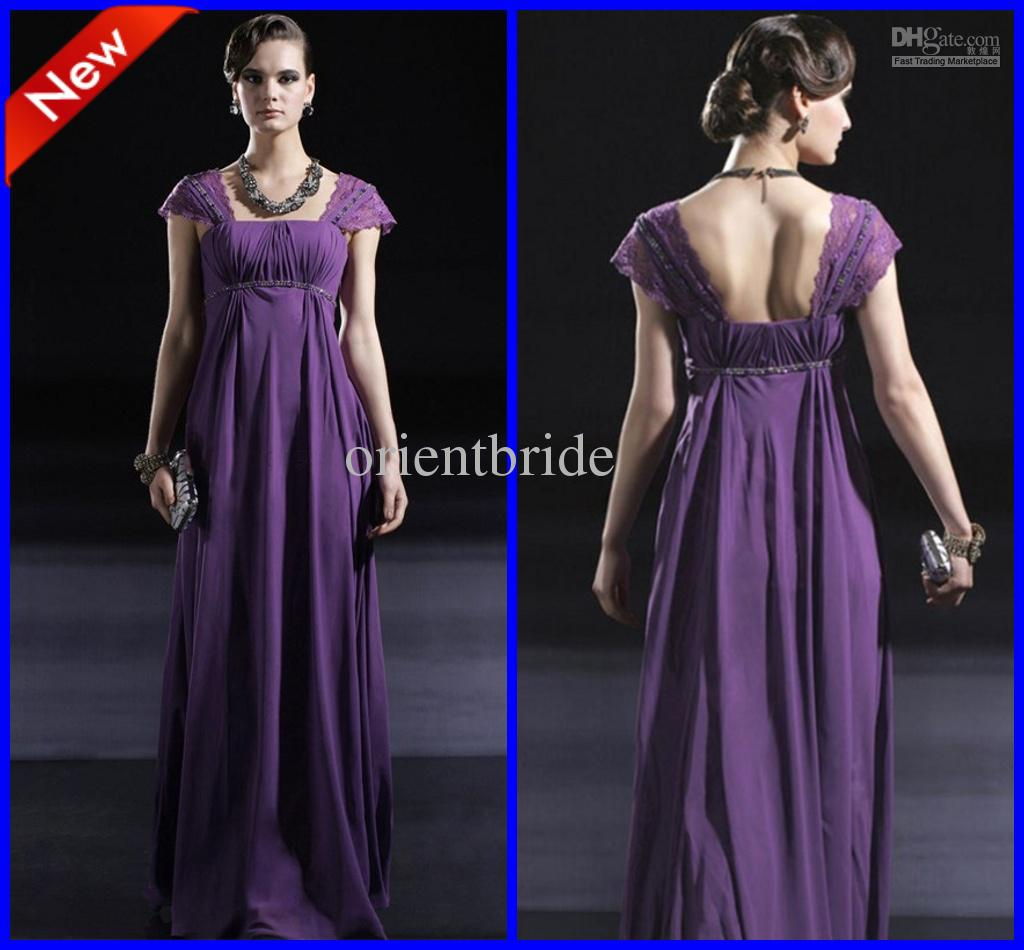 Purple cap sleeves beaded empire waist ruffles long formal purple cap sleeves beaded empire waist ruffles long formal maternity bridesmaid dresses for wedding red and white bridesmaid dresses retro bridesmaid ombrellifo Image collections