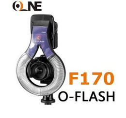 Wholesale Dslr Ring Flash - O-Flash Macro Flash unit F170 Macro O Flash Ring for CANON nikon d80 d50 d90 d60 d70s dslr