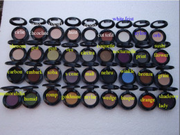 Wholesale Eyeshadow Singles - free shipping DHL ! hot new makeup single 36 color 1.5g eyeshadow with name