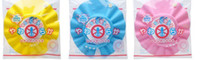 Wholesale Beautiful Baby Boy Cap - HOT!!! new beautiful Shampoo Shower Bath Caps for Baby Children 10pcs lot