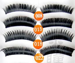 Wholesale Ordering Hair Extensions Wholesale - Top Selling! False Eyelashes Party Fake Lashes Extension Drop Shipping Mix Order 50Box 500Pair Lot