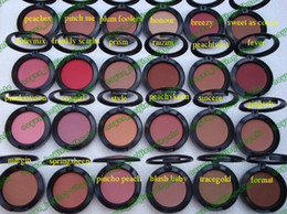 Wholesale Hot Singles - lowest price Hot sell makeup 24 colors SHEERTONE Blush 6g with color name