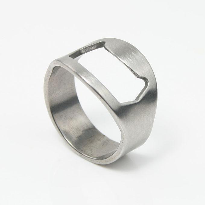 95 wedding ring bottle opener stainless steel